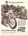 BSA Golden Flash A10 Poster P5112